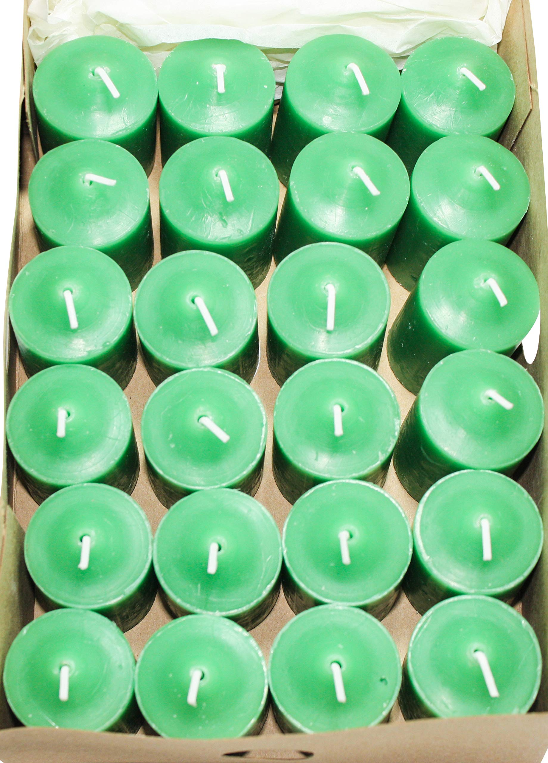 Enlightened Ambience 24 Fresh Green Tea Party Highly Scented Votive Candles