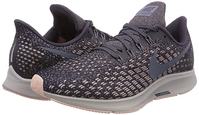 Amazon.com | Nike Womens Air Zoom Pegasus 35 Running Shoes (9.5 B US, Gridion/Light Carbon-Storm Pink) | Road Running
