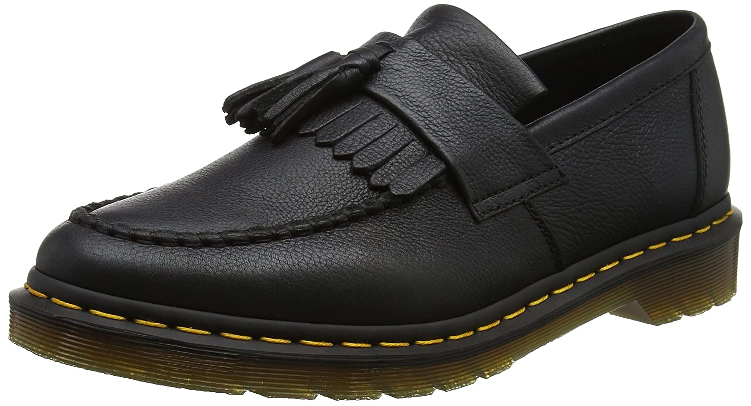 Dr. Martens Adrian Black Virginia, Mocasines para Mujer: Amazon.es: Zapatos y complementos