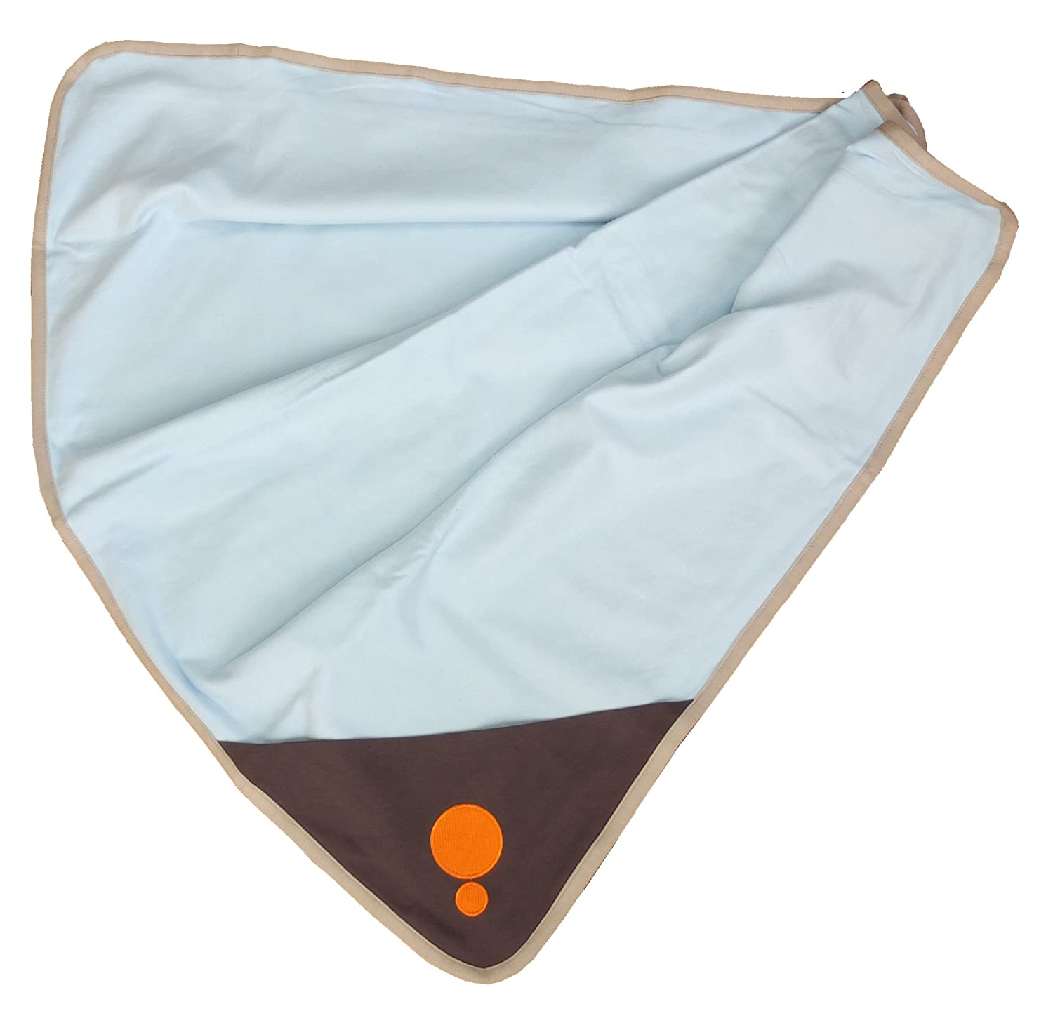 Belly Armor Maternity Belly Blanket Chic Light Blue Cosmo – Protective Cotton Blanket Effective at Shielding Everyday Wireless Radiation RadiaShield Technologies BBC.C.04.10.00001