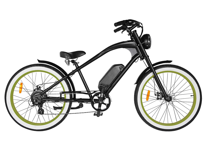 25562f44fa1 Amazon.com : T4B Michael Blast Vacay Retro High Frame eBike Electric  Bicycle Bike 26