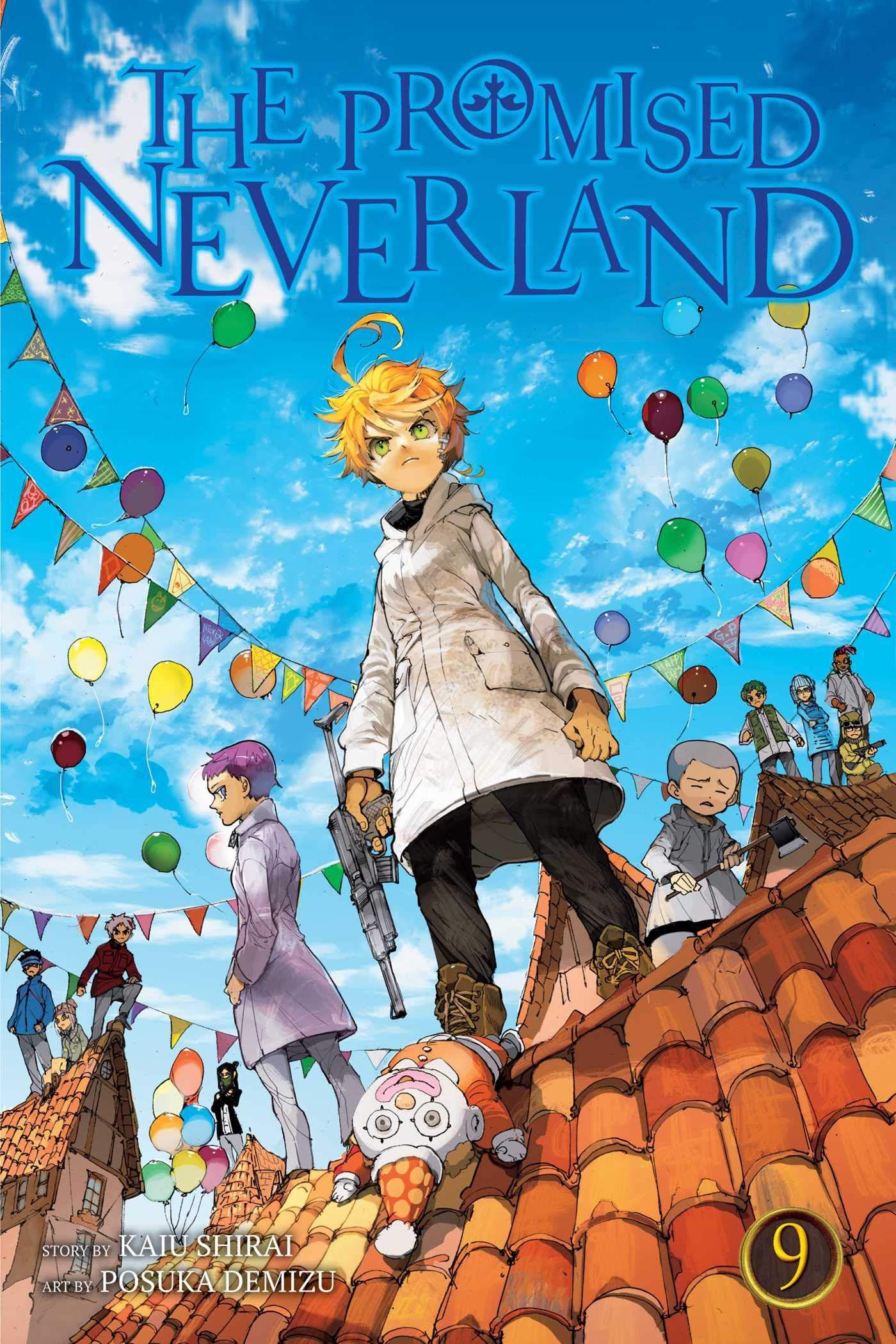 """Résultat de recherche d'images pour """"the promised neverland 9"""""""