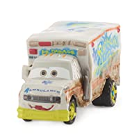 Disney Pixar Cars Cars 3-Mega Vehicule Docteur Cabosse, DXV93