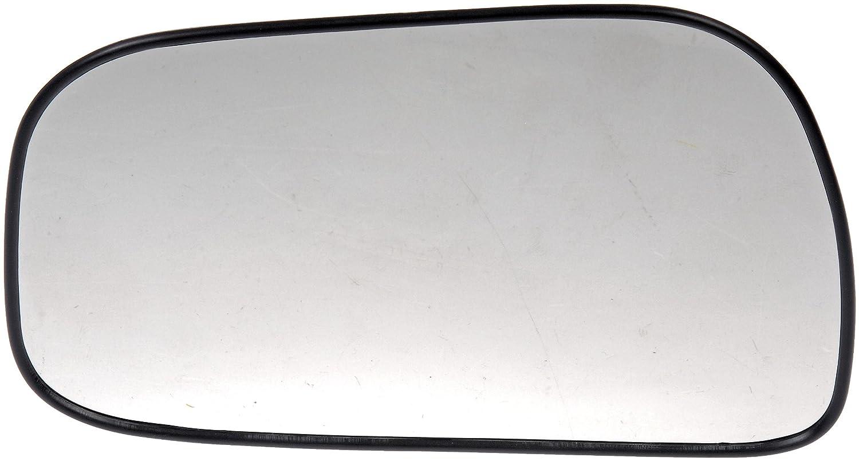 Plastic Backed Door Mirror Glass Dorman 56955 Toyota Camry Driver Side Heated