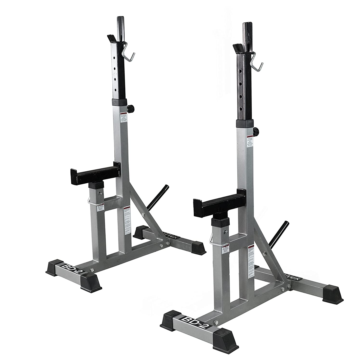 Amazon Com Valor Fitness Bd 2 Independent Bench Press Stands With