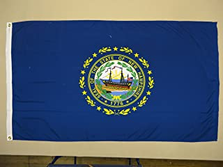product image for 5x8' New Hampshire 2ply Polyester State Flag