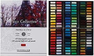 Savoir-Faire Sennelier Soft Pastels Half Stick Set 120/Pkg-Paris, Paris