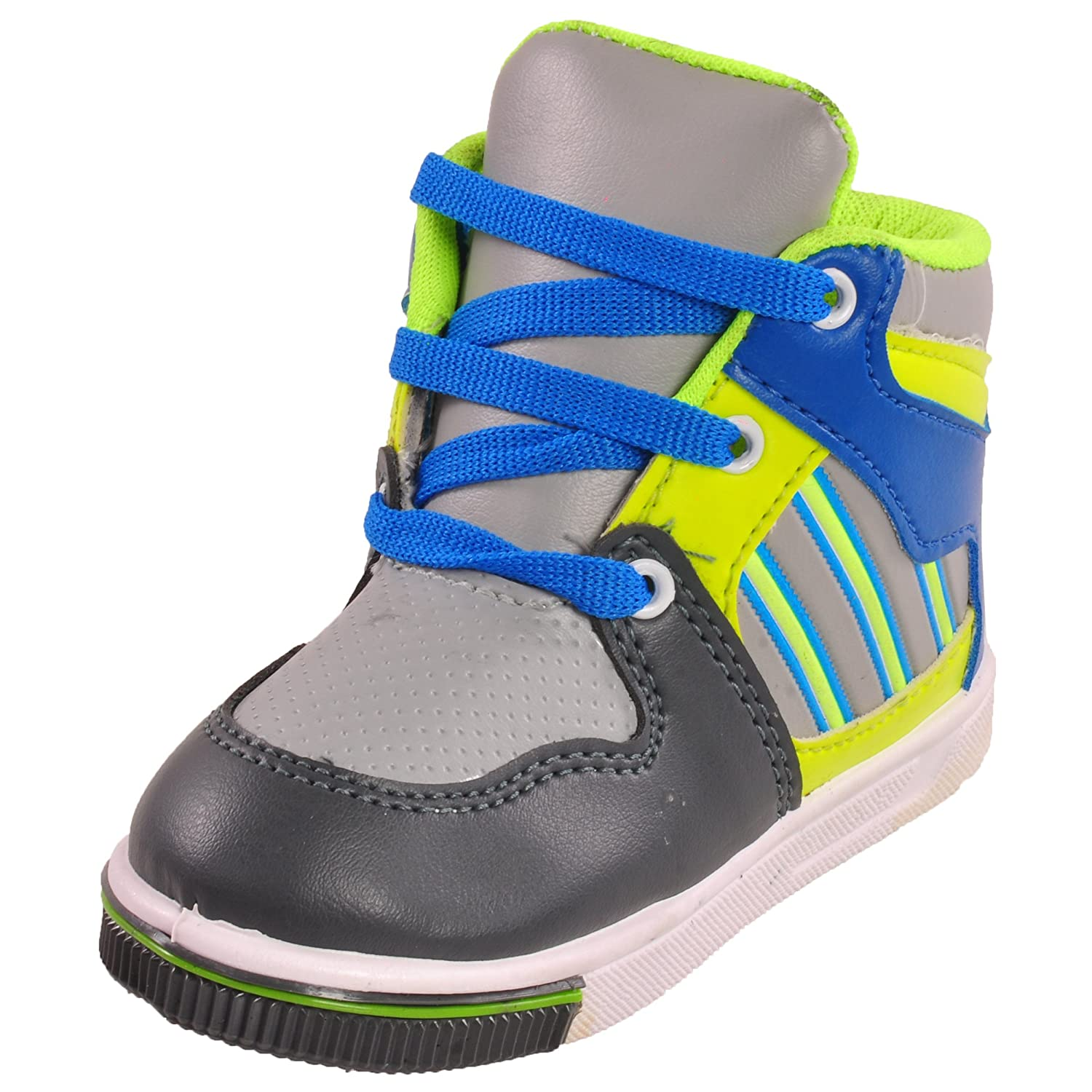 Tulaasi Neon Multicolor Kids Running Shoes