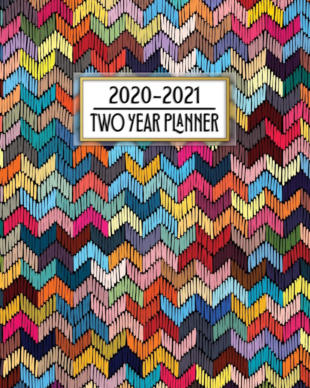 2020 - 2021 Two Year Planner: Native Cross Stitch Rug ...