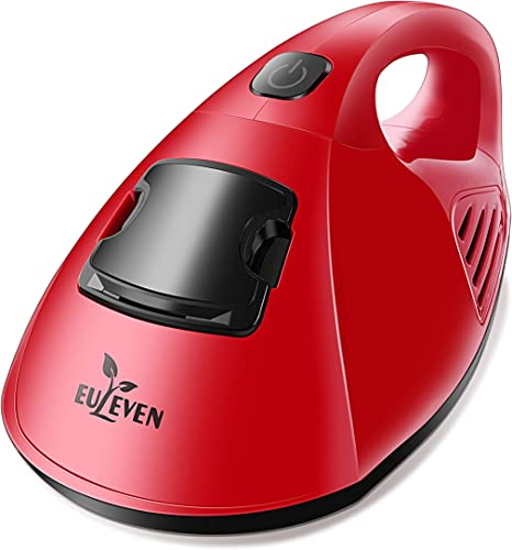 Euleven UV Handheld Vacuum Cleaner with Advanced HEPA Filtration for Bed, Mattresses, Pillows, Cloth Sofas, and Carpets