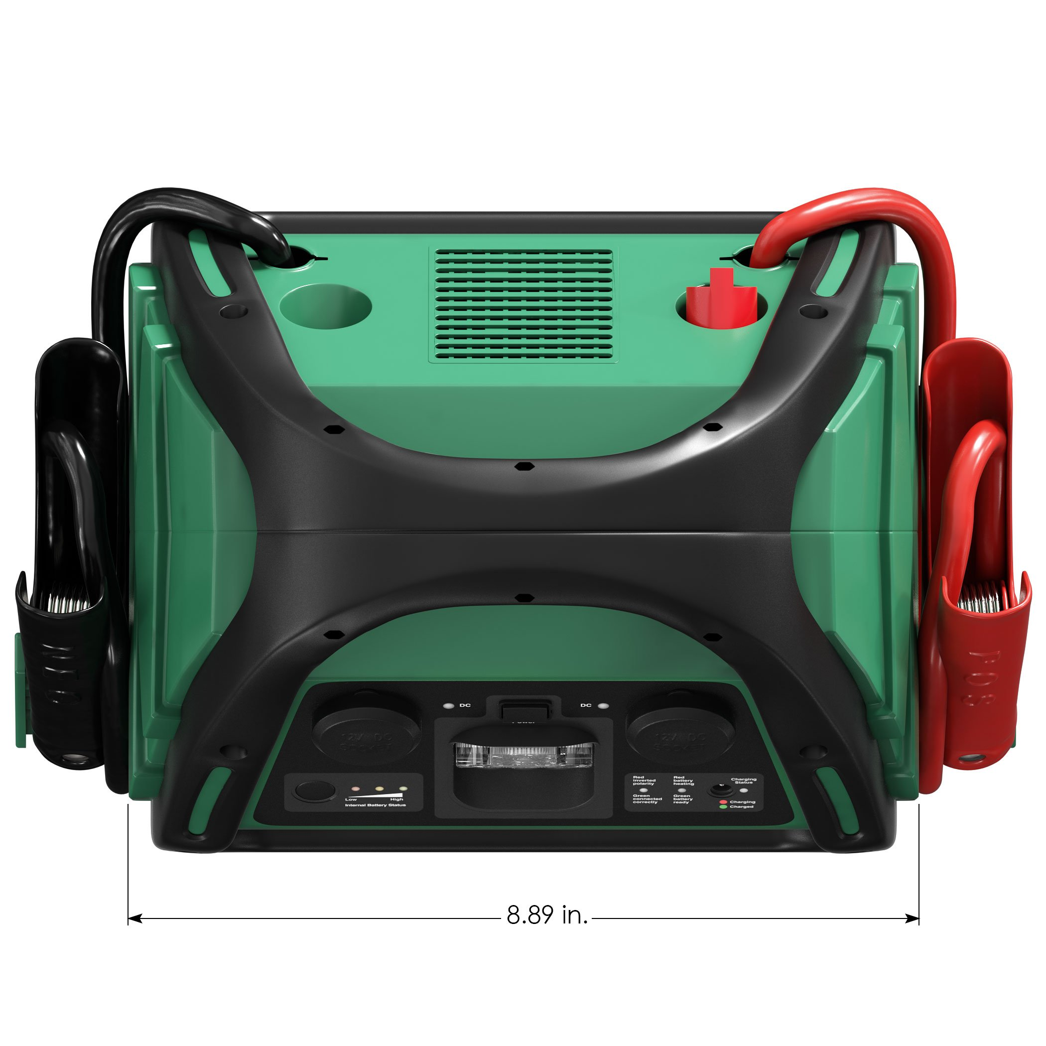Battery Tender 1200 Peak Amp AGM Car Jump Starter with 2100A USB Ports to Charge Mobile Devices and 12V DC socket to Power Other Accessories by Battery Tender (Image #7)