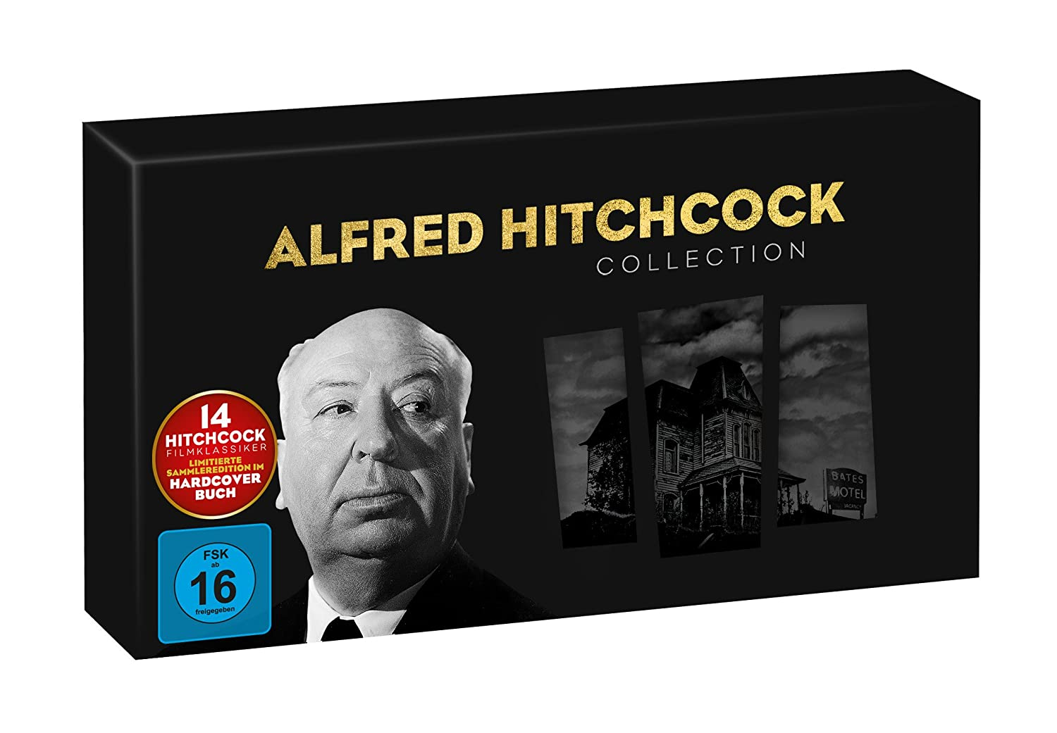 German 14-DVD Alfred Hitchcock Collection, hardback book limited edition (Universal)