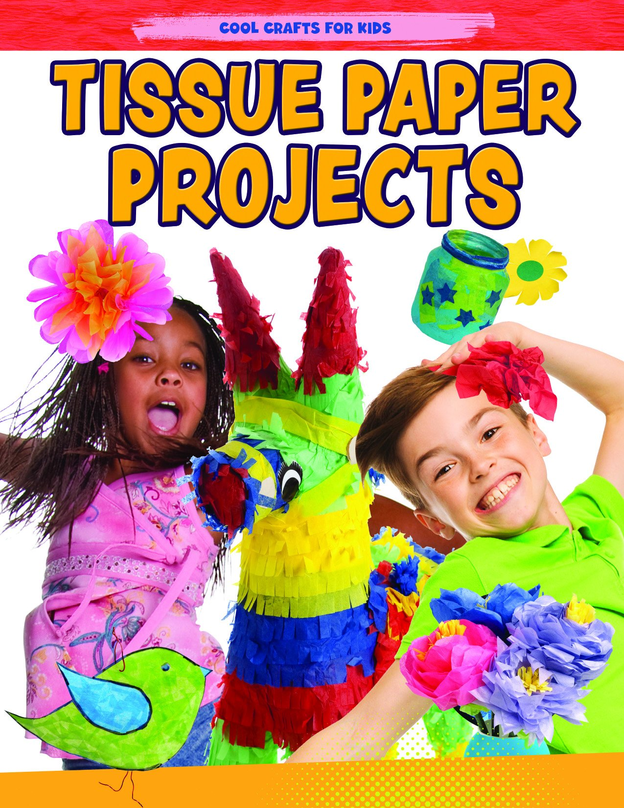 Tissue Paper Creations Cool Crafts For Kids Jane Yates
