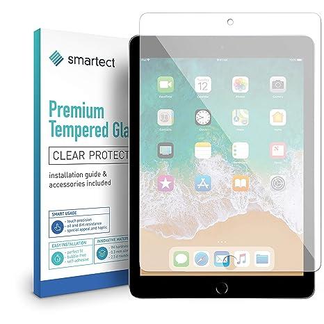 smartect Protector de Pantalla para iPad 2018 / iPad 2017 / Pro 9.7 / Air/Air 2-9H Cristal Templado: Amazon.es: Electrónica