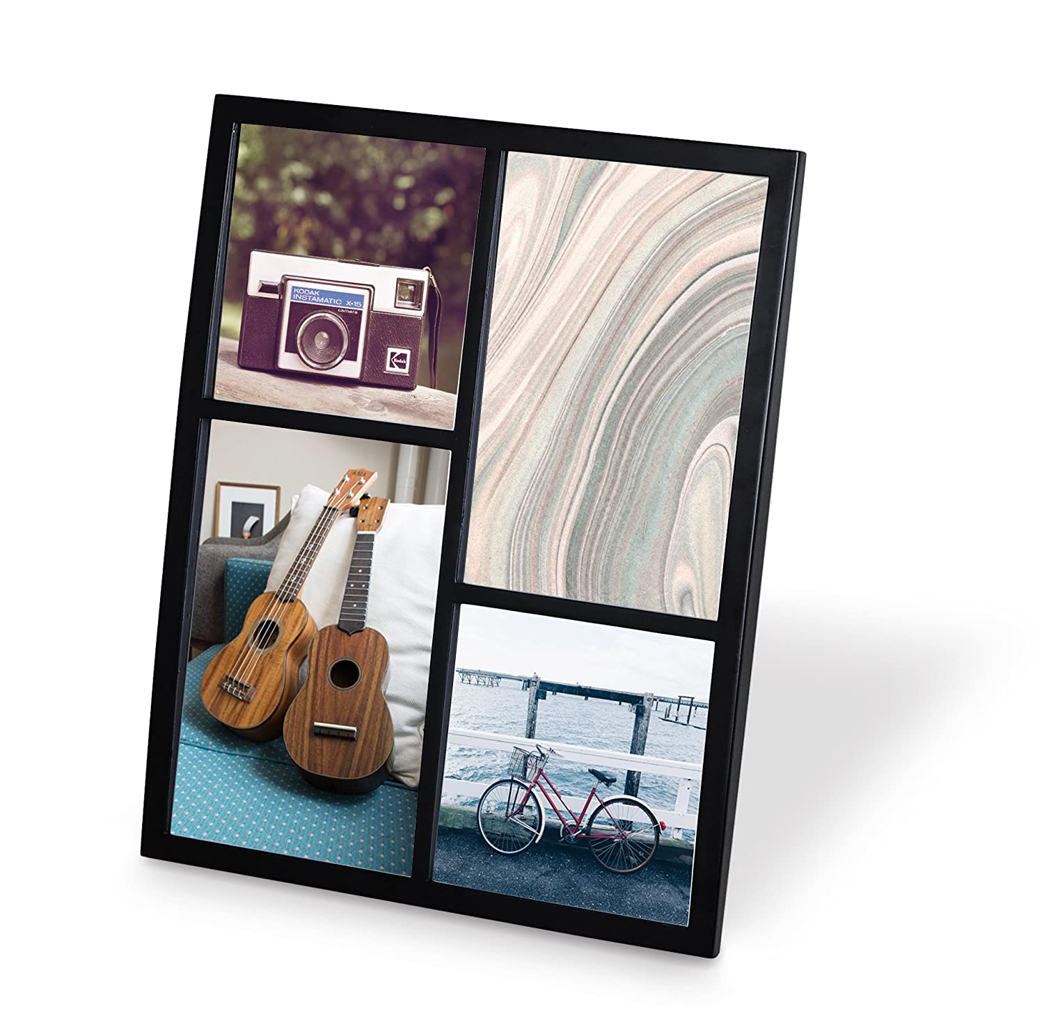 Amazon.com - Umbra Senza Metal Picture Frame, 4 by 6-Inch, Chrome ...