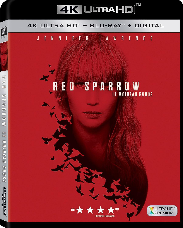 Red Sparrow [4K Ultra HD] (Bilingual) [Blu-ray]: Amazon.ca: DVD