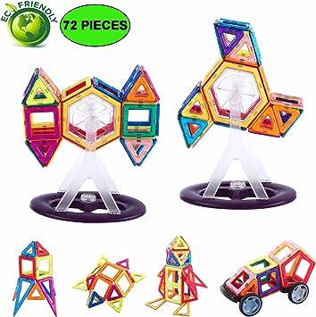Magnetic Building Blocks 94pc Construction Block Creativity Education Toy Gift