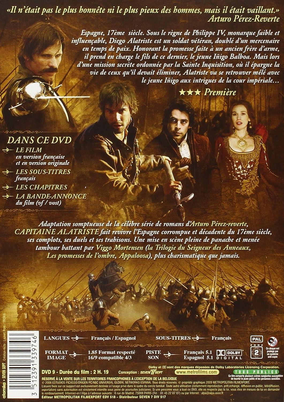 Capitaine Alatriste [Francia] [DVD]: Amazon.es: Viggo Mortensen, Elena Anaya, Unax Ugalde, Enrico Lo Verso, Javier Cámara, Antonio Dechent, Juan Echanove, ...