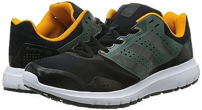 buy popular 26e05 7bd19 Adidas - Duramo 7 Atr M - S78316 - Couleur Blanc-Noir-Vert - Pointure  40.6 Amazon.fr Chaussures et Sacs