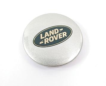 Land Rover de tuerca de plata rueda centro tapa con logotipo (lr089424) para Discovery 2, Freelander, LR3, y Range Rover: Amazon.es: Coche y moto