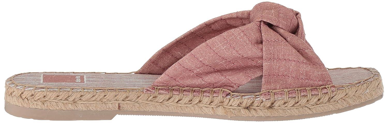 Dolce Vita Women's Benicia Slide Sandal B0784HHGHJ 9 B(M) US Blush Linen