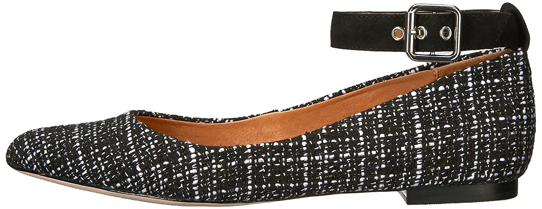 Opportunity Shoes - Corso Como B06WD8BMDJ Women's Ramona Ballet Flat B06WD8BMDJ Como 9 B(M) US|Black/White Tweed 000c3c