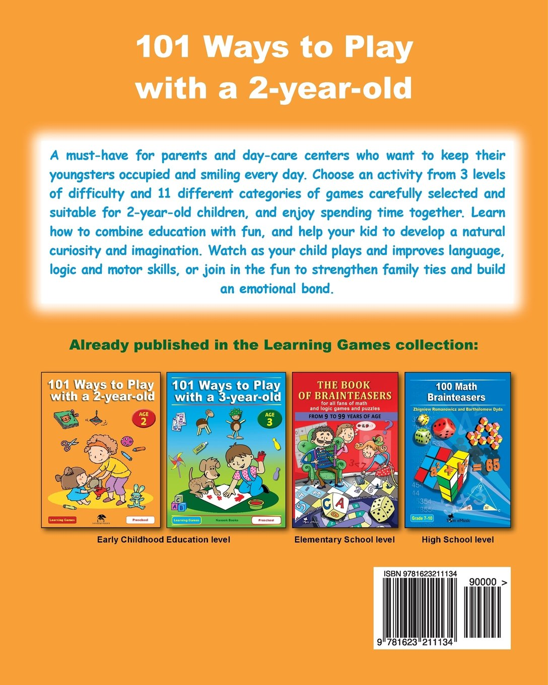 101 Ways to Play with a 2-year-old: Educational Fun for Toddlers and ...
