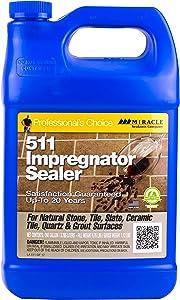 Miracle Sealants 511GAL4 511 Impregnator Penetrating Sealers, Clear