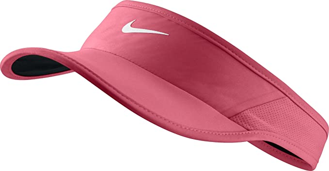 98b5b369 Image Unavailable. Image not available for. Color: Nike Unisex Featherlight  Adjustable Visor
