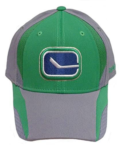 86fd192f78a Image Unavailable. Image not available for. Color  Reebok Vancouver Canucks  Flex Practice Hat