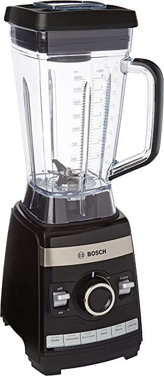Bosch MMBH4P3W VitaBoost Batidora de vaso de alta velocidad, 1600 ...