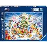 Ravensburger Disney Christmas Eve Puzzle 1000pc,Adult Puzzles