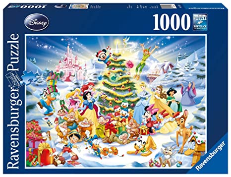 Amazon ravensburger disney christmas eve jigsaw puzzle 1000 ravensburger disney christmas eve jigsaw puzzle 1000 pieces gumiabroncs Images
