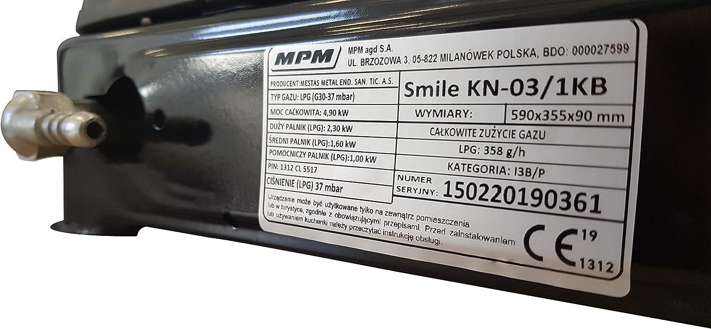 MPM Smile-KN//Cocina de Gas Port/átil Adultos Unisex