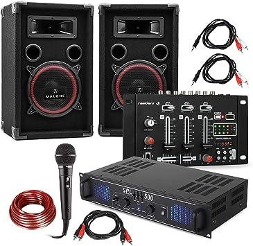 DJ Juego de PA DJ-14 BT - Amplificador de PA , Mesa de Mezclas BT ...