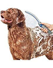 """Waterpik PPR-252 Pet Wand Pro Shower Attachment, 13"""", Blue/Grey System for Fast and Easy Dog Bathing"""
