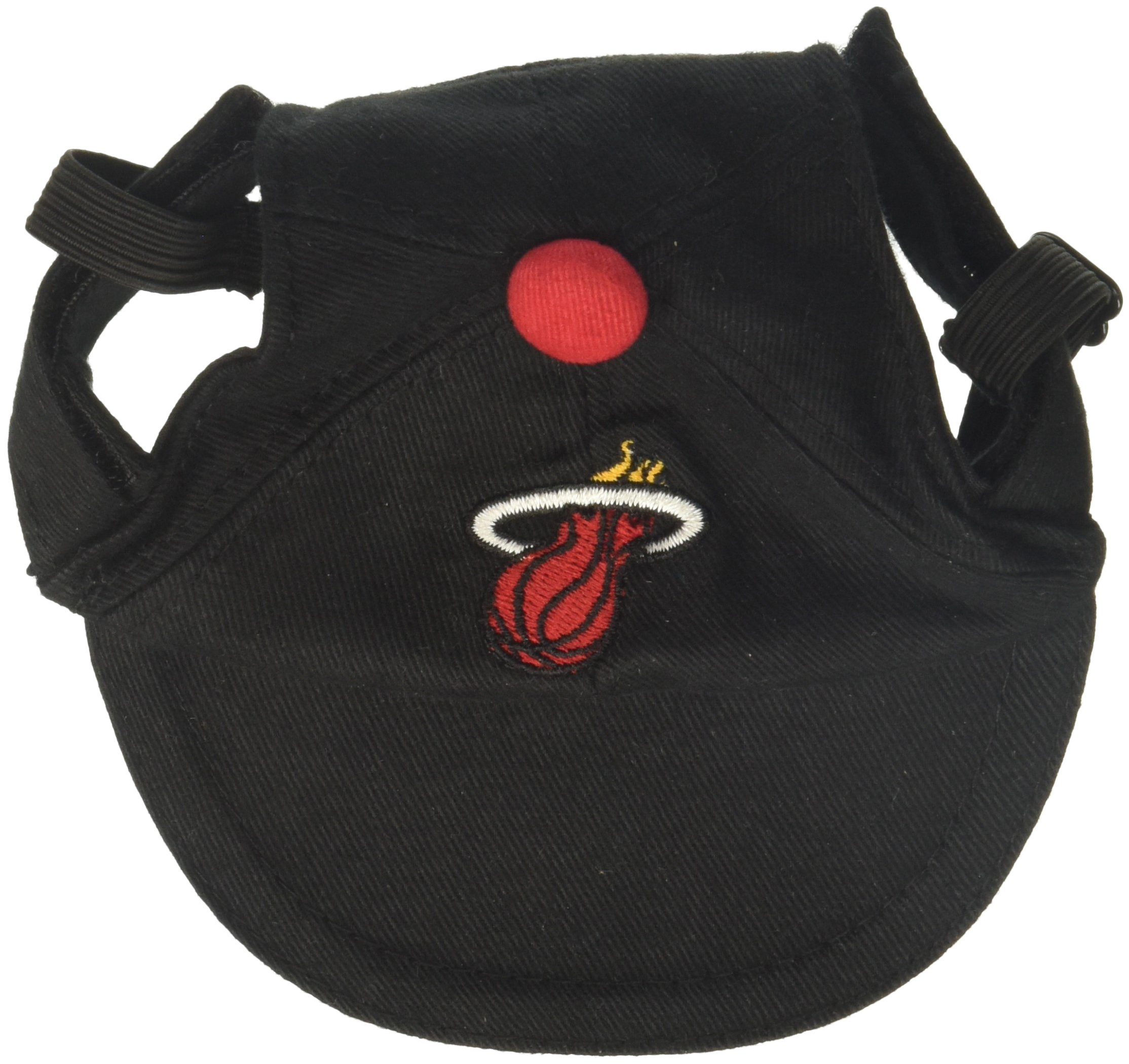 Sporty K9 NBA Miami Heat Dog Cap, Small