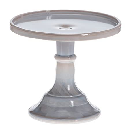 Mosser Glass 6\u0026quot; Footed Cake Plate Stand - Gray Marble  sc 1 st  Amazon.com & Amazon.com   Mosser Glass 6\