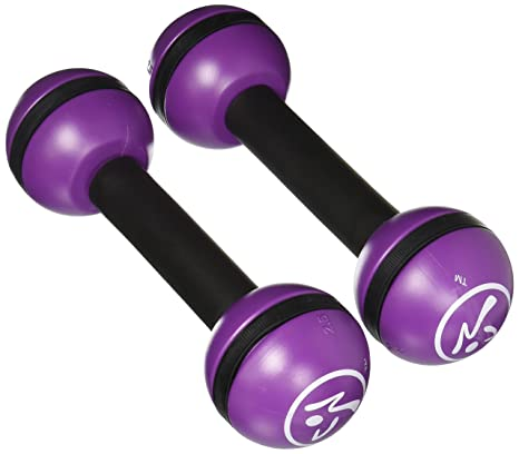 Zumba Fitness® Equipment Toning Sticks 2.5 LB - Barra de pesas, color multicolor,