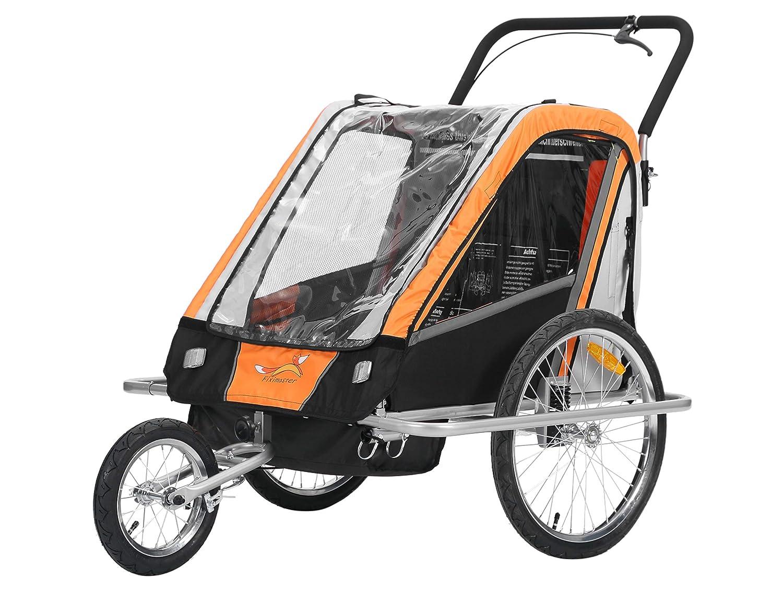 Fixi Master Multifunktion 2en 1Remorque de vélo/jogger bébé chariot Orange BT503neuf oskar-bebehut