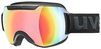 b35980f4dd84 Uvex Downhill 2000 FM Goggle - 2019 Black Mat Rainbow Rainbow Mirror S3