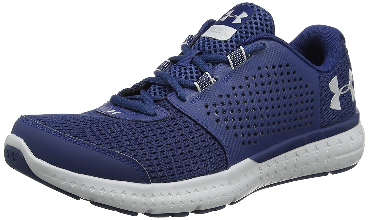 Under Armour UA Micro G Fuel RN - Zapatillas de Running Hombre 40.5 EU|Azul (Blackout Navy 997)