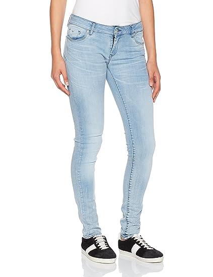 09c22744fb Kaporal Women's Locka Slim Jeans, Blue (Fresh Fresh), ...
