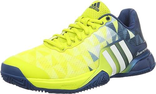 adidas Barricade 2016 Clay, Chaussures de Tennis Homme, Vert