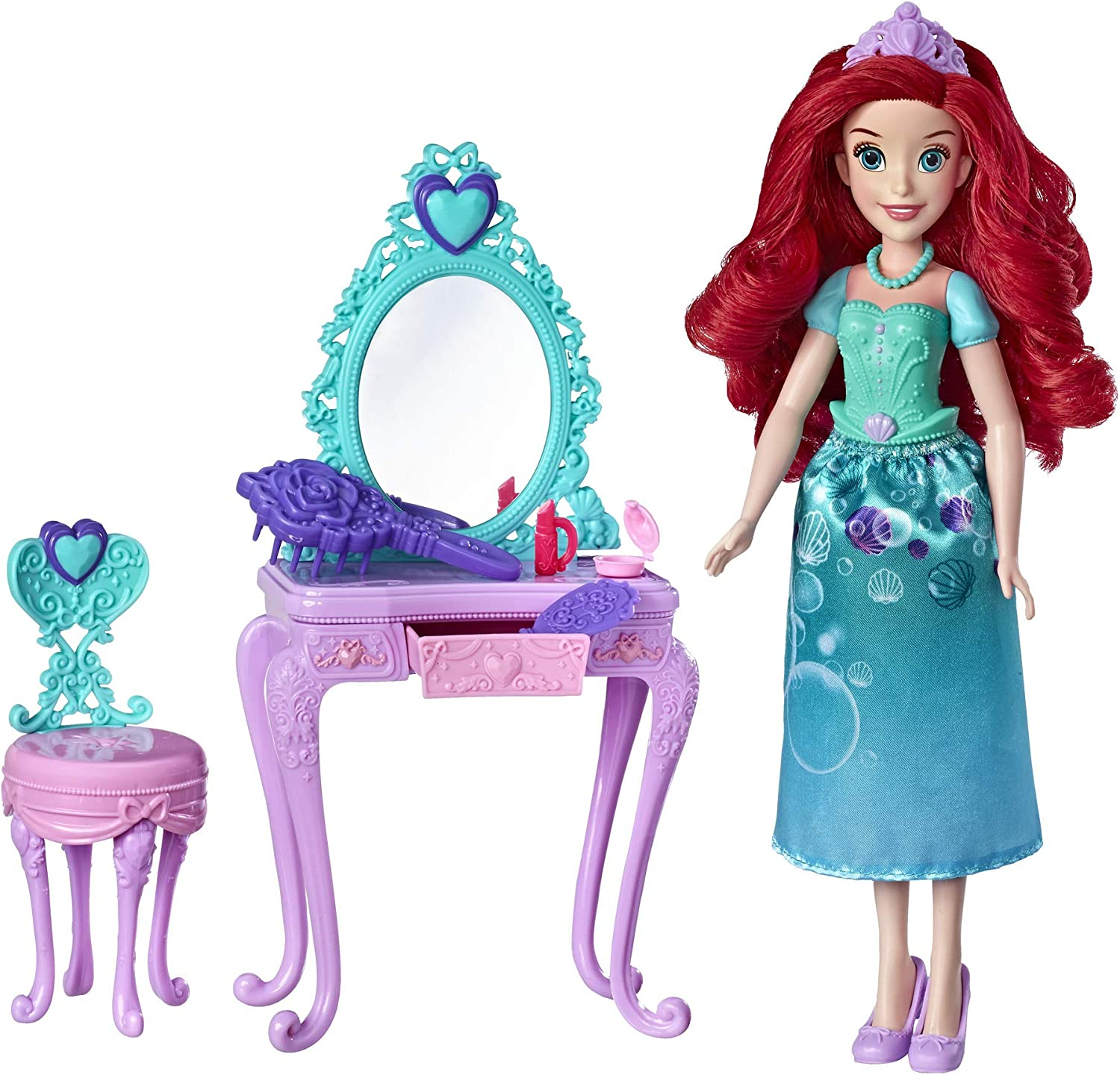 Amazon Com Disney Princess Ariel S Royal Vanity Toys Games