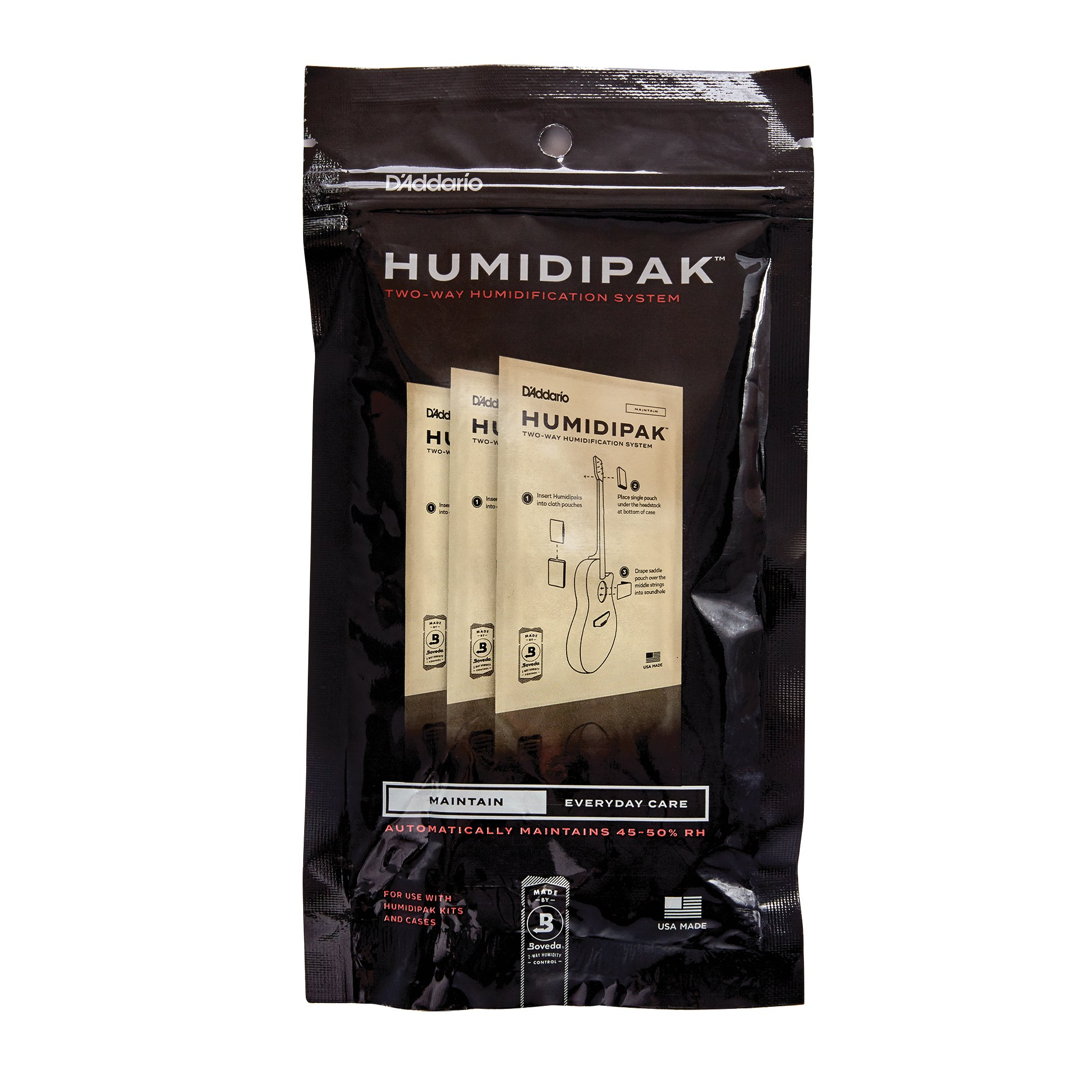 Planet Waves PW-HPRP-03 D'Addario Two Way Humidification System Replacement Packets, 3-pack by D'Addario Accessories