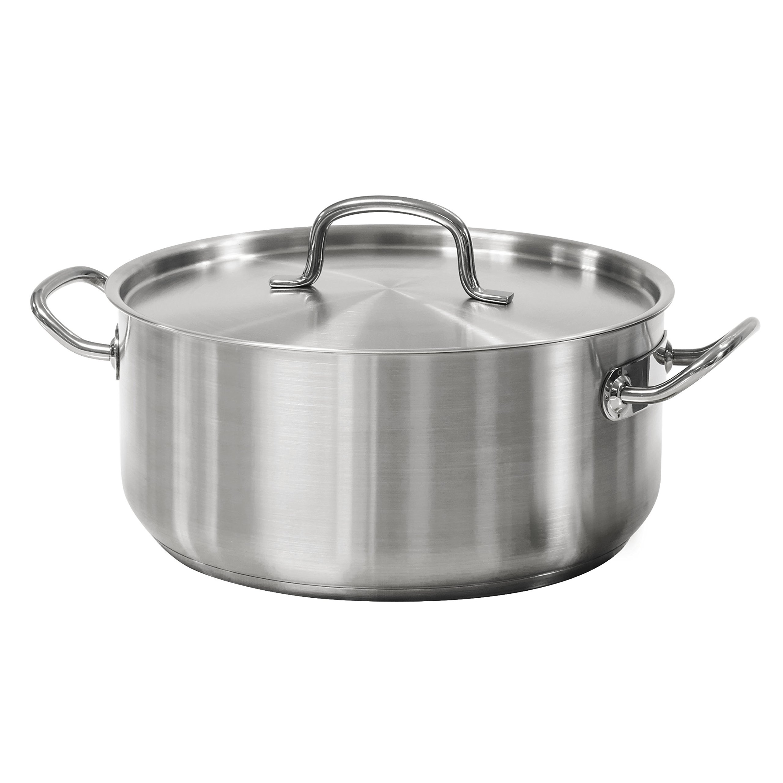 Tramontina 80117/576DS Pro-Line Stainless Steel Covered Dutch Oven, 9 quart, NSF-Certified by Tramontina