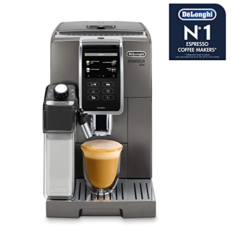 DeLonghi 370.95t ECAM 370.95.t dinamica Plus, titanio: Amazon.es ...