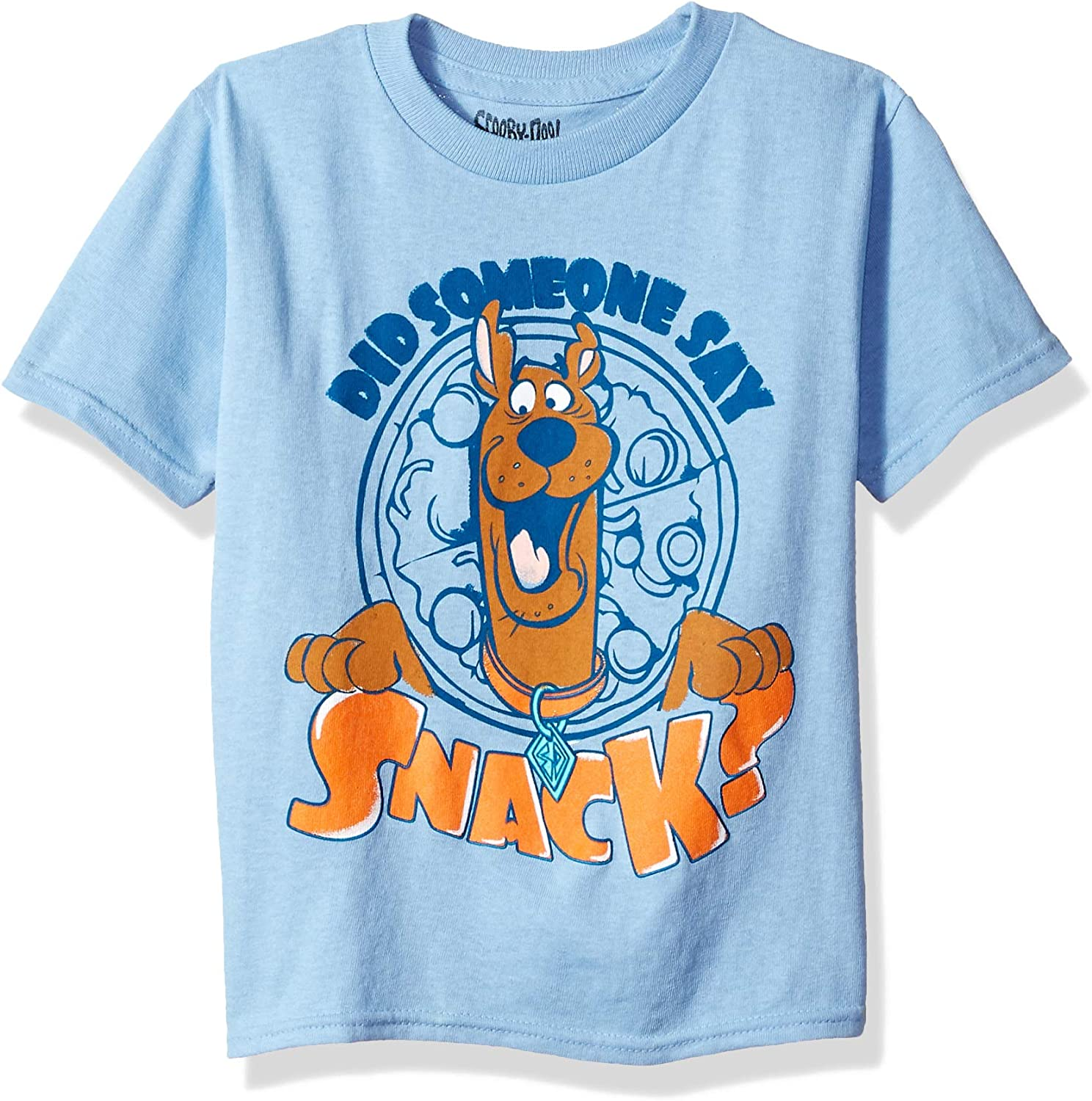 Scooby Doo Boys' Toddler Someone Say Snack Short Sleeve Tshirt