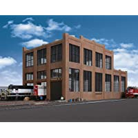 "Walthers HO Scale Rail Shops Cornerstone Series174 Railroad Shop Kit 17-1/8 x 8-3/4 x 8-5/8"" 43.4 x 22.2 x 22cm"